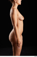 Jennifer Mendez  1 arm flexing nude side view 0001.jpg